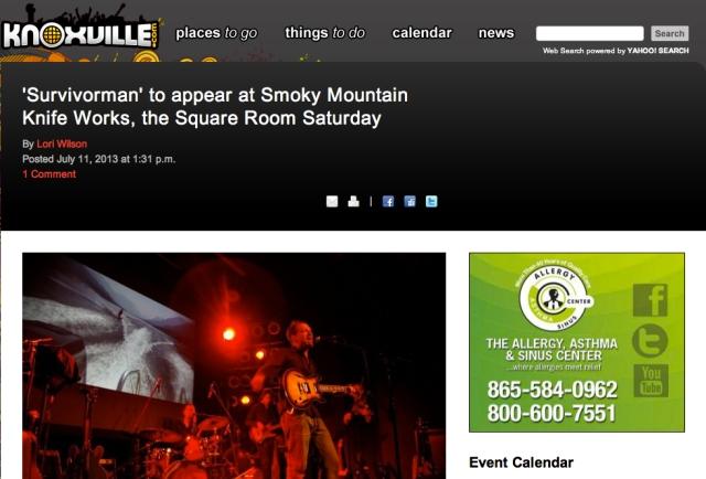 Les Stroud Knoxville.com 1